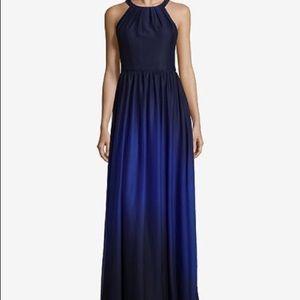 Beautiful blue ombré prom dress size 4